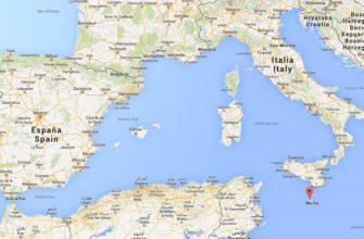 где находится Мальта на карте мира
