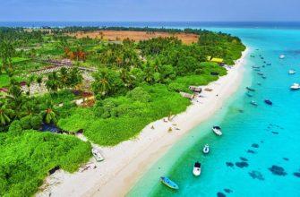 где находятся Мальдивские острова на карте