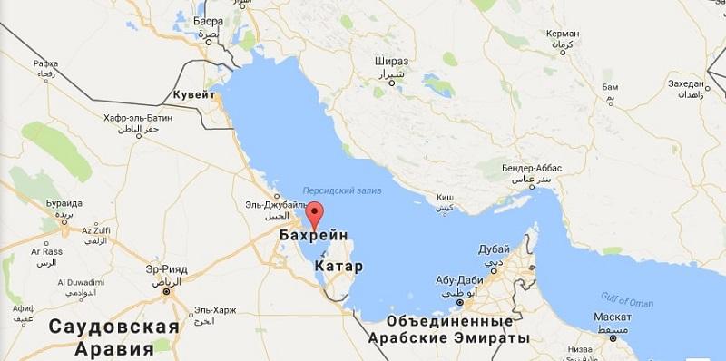 где находится Бахрейн в какой стране