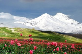 где находится гора Эльбрус на карте России