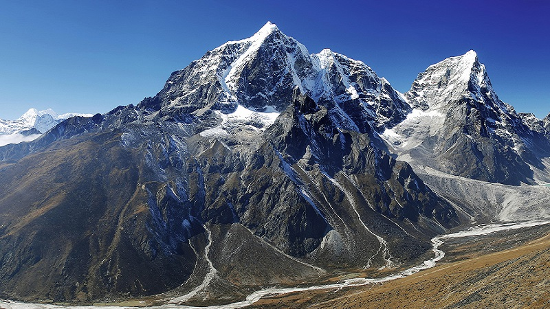 где находится гора Эверест на карте
