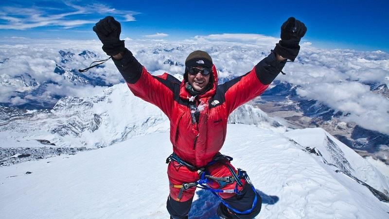 высота горы Эверест