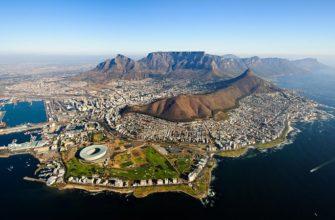 где находится Кейптаун на карте мира