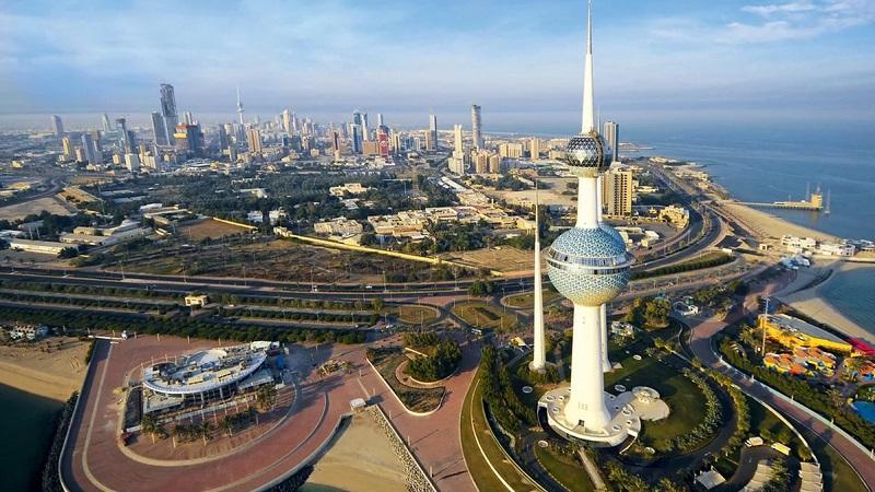 где находится Кувейт на карте мира