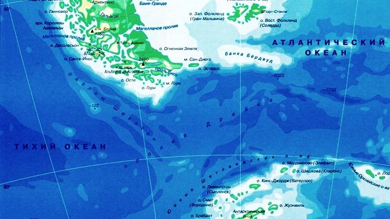 какие океаны соединяет пролив Дрейка