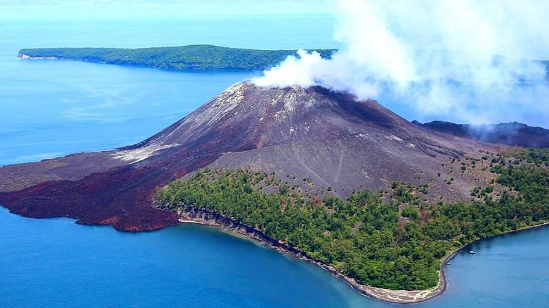 где находится вулкан Кракатау на карте